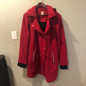 Double insulted red jacket 2X